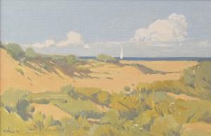 Песчаный берег 2011 20х30 к,м