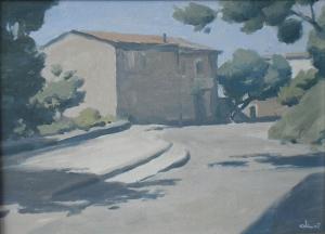 Улица в Сан-Стефане 2007 19х23 к,м