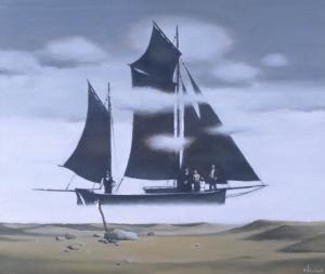 Семья Морехода 2002 50х60 х.м