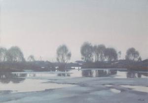 Старая плотина 2016 50х70 х,м