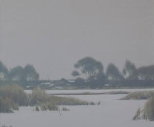 Февраль 2008г 50х60см х,акрил